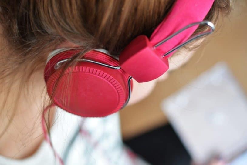 hair headphone hearing 3100